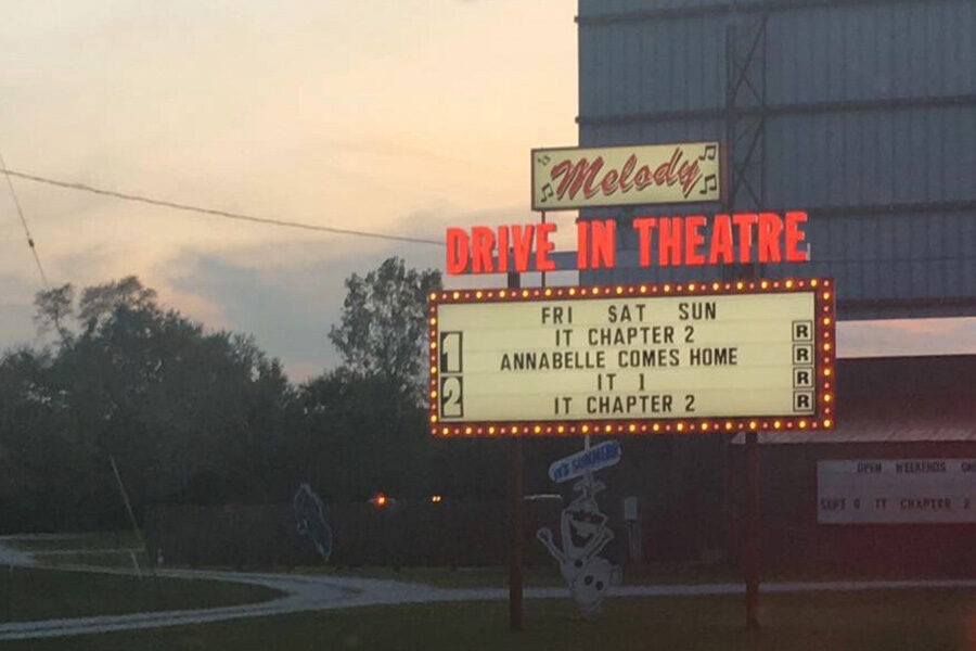 Melody Drive In is pictured.