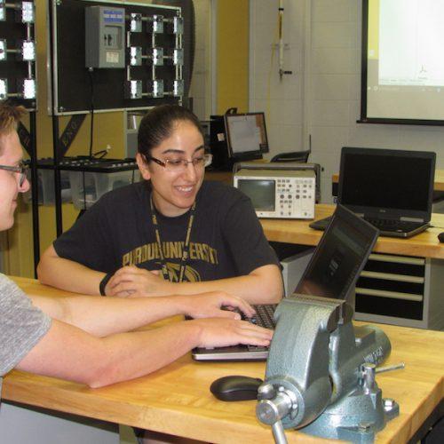 CAD design team is pictured.