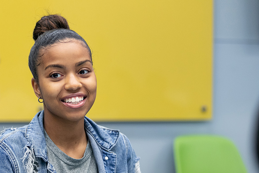 Shekinah Walton is pictured.