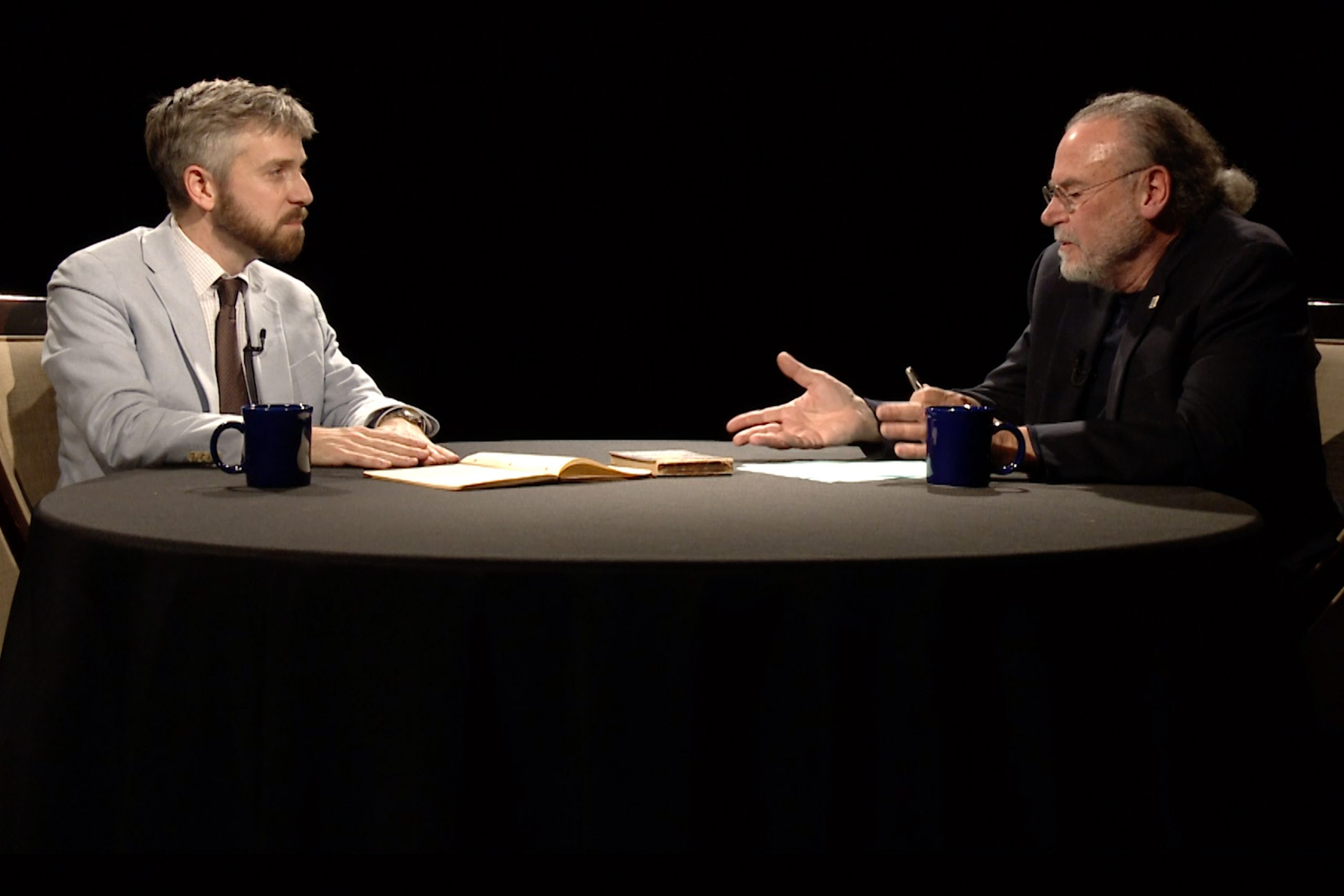 James Osborne talks with Lakeshore PBS host, Thomas J. Roach.