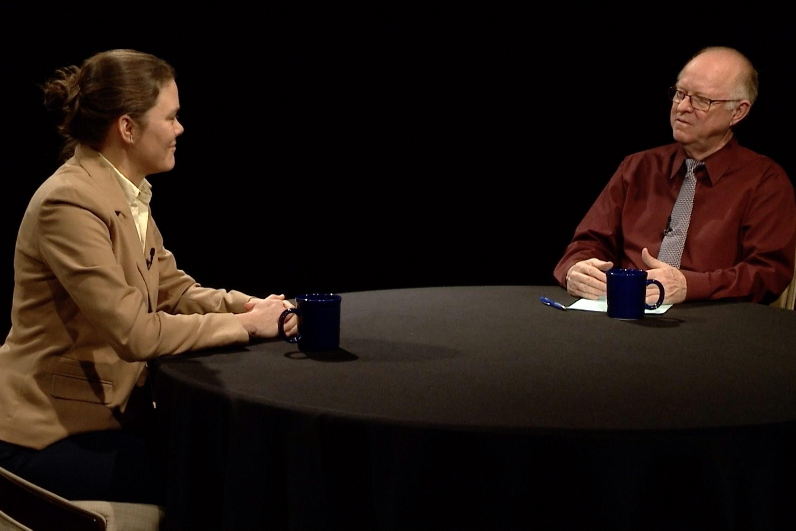 Elizabeth Wuerffel talks with PNW's Lee Artz.