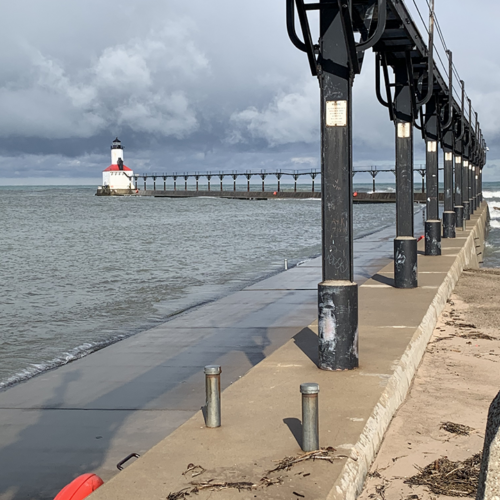 Michigan City Pier and Lighthouse