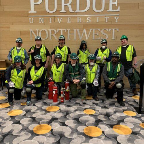 PNW's 2019 Westville CERT members.