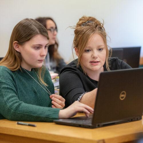 student tutors student